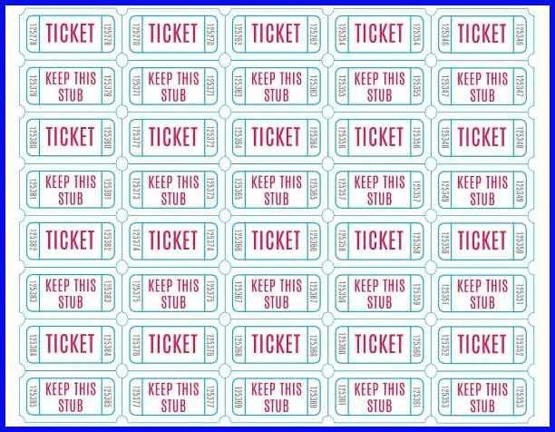 Printable Tickets.Free Printable Raffle Tickets Download.jpg - bio ...
