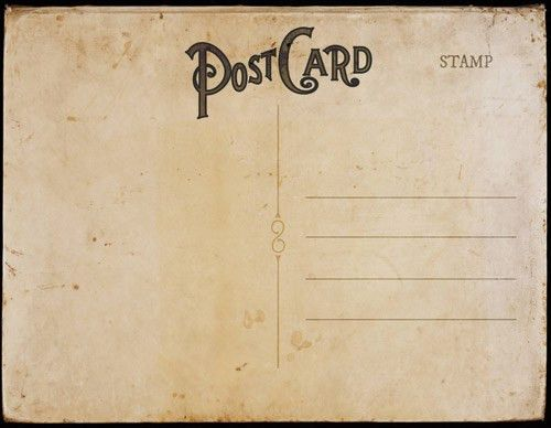 Vintage Postal Charm | Vintage postcards, Invitation templates and ...