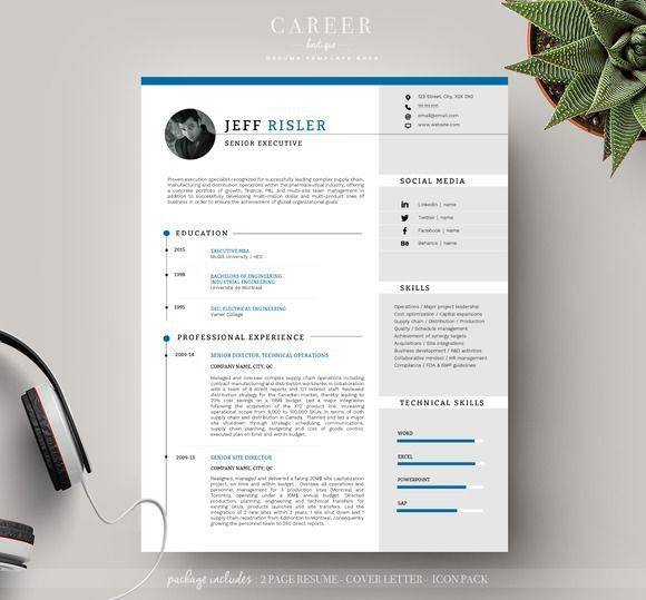 144 best Resume Templates Boutique images on Pinterest | Resume ...