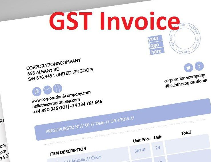 GST Invoice Guide | Download GST Invoice Format in Excel | A N Bhutada