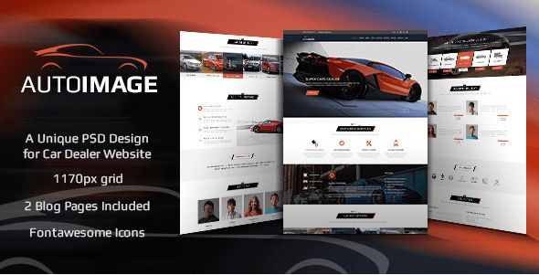 42+ Best Car HTML Website Templates 2017