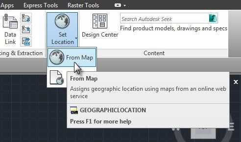 AutoCAD Geographic Location Settings Tutorial With Pictures