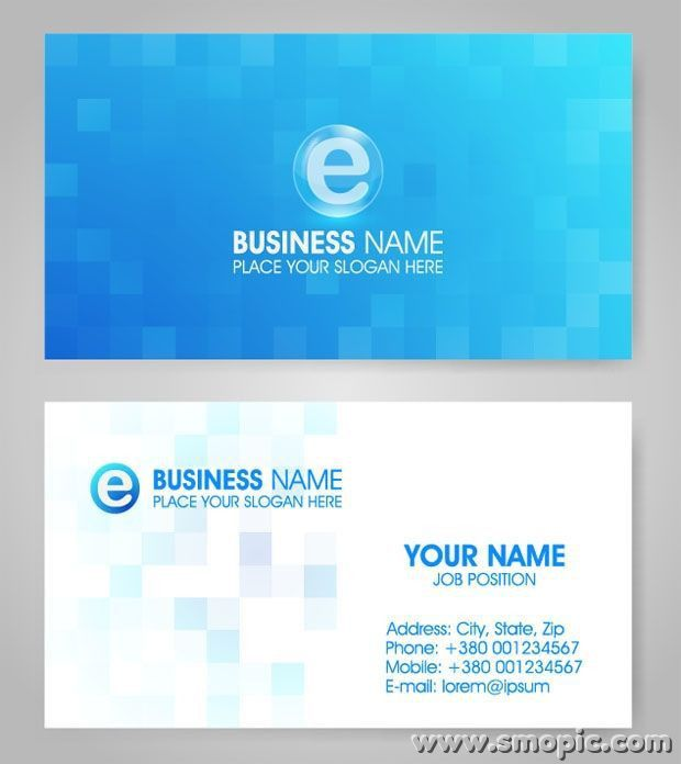vector lattice blue card background design template illustrator ...