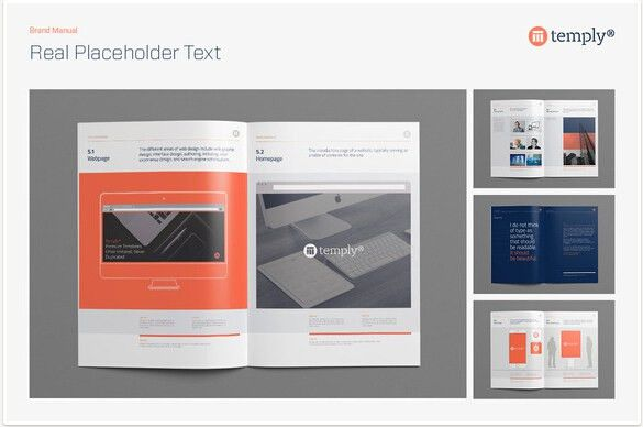 10 Professional Brand Manual Templates to Promote Brand Image ...
