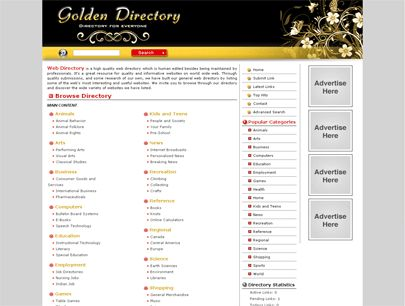 PHP Link Directory Template Archive - List of Templates for Version3.4