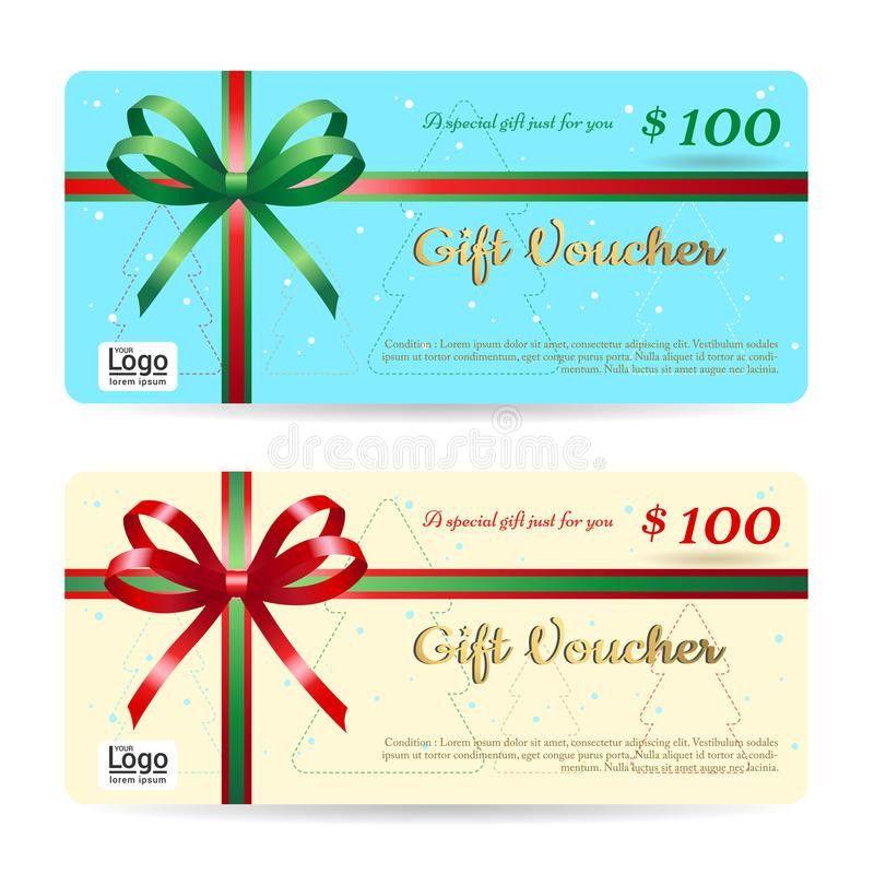 Christmas Gift Voucher Templates. 25 best gift certificate ...