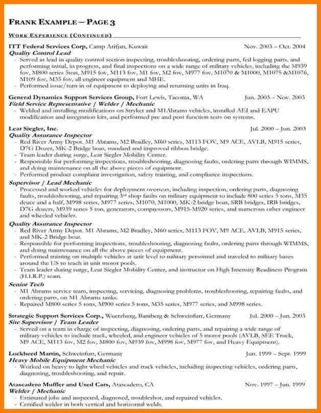 Government Resume Examples. Government Resumes Examples - Federal ...