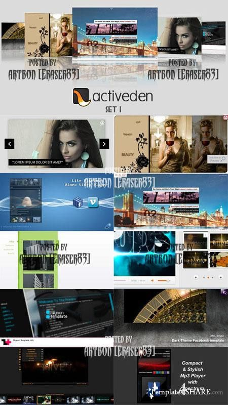 ActiveDen » Templates4share.com - Free Web Templates, Themes and ...