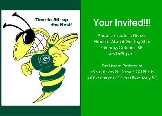 Greenhill School Meetup, Online Invitations & Cards by Pingg.com