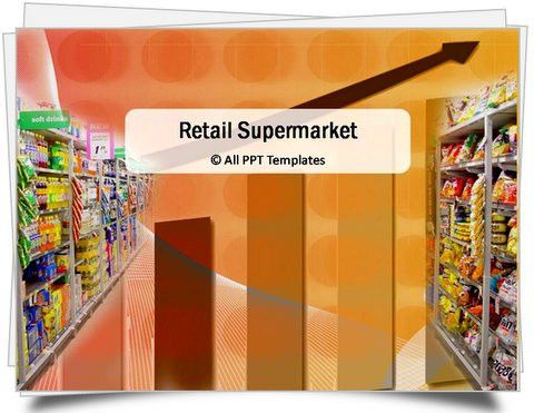 PowerPoint Retail Supermarket Template