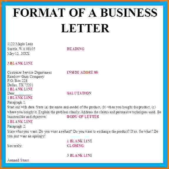 8+ formal business letter spacing | Financial Statement Form