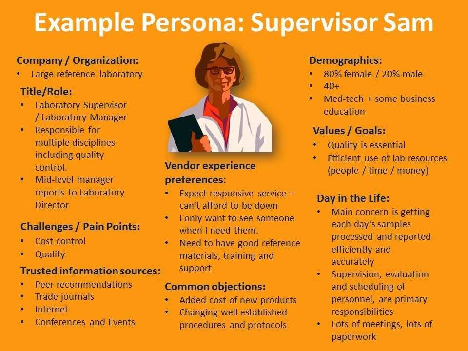 Personification: Beyond Segmentation to Customer Personae