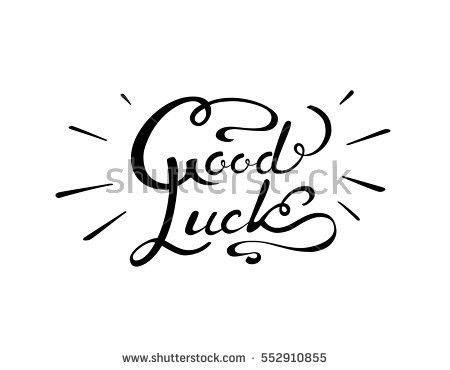 Good Luck Greeting Card Stock Images, Royalty-Free Images ...