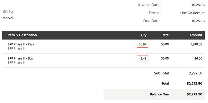 Invoices and Expenses   Online Help   Zoho Projects
