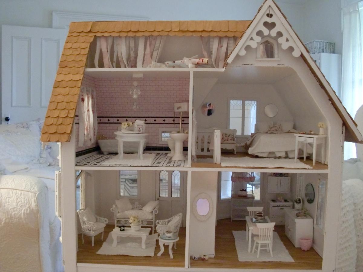 Dollhouse interiors on pinterest dollhouses miniatures and doll houses - Dolls house interior ...
