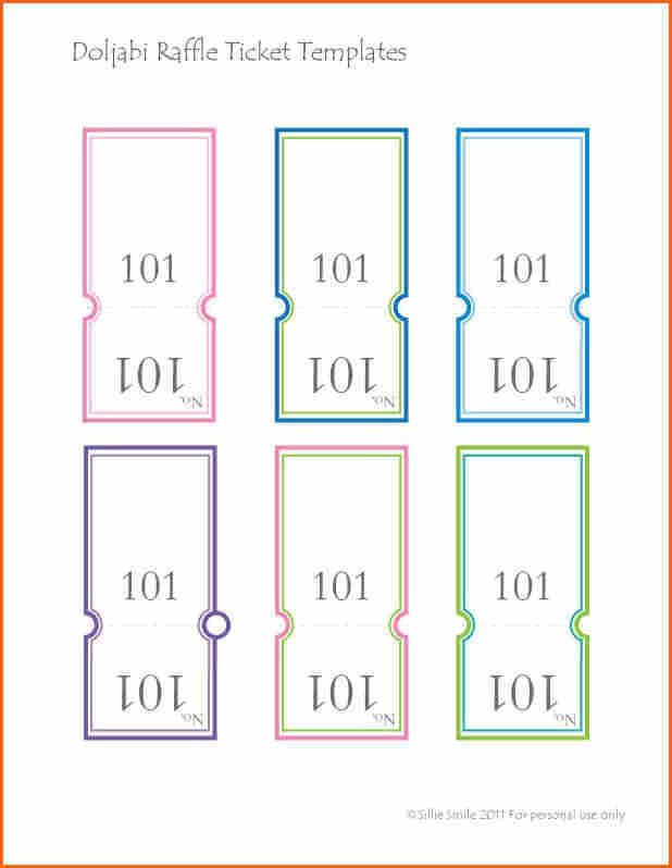 10+ raffle ticket templates - Budget Template Letter