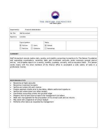 Accountant Job Description ILCA.pdf - International Laser Class ...