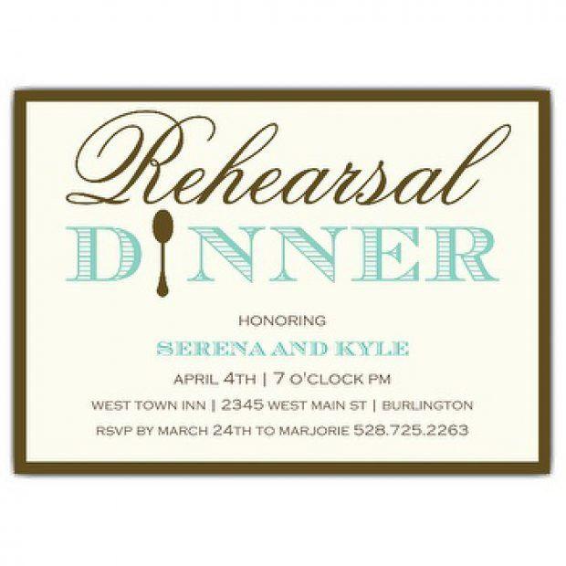 Rehearsal Dinner Invite Wording | christmanista.com