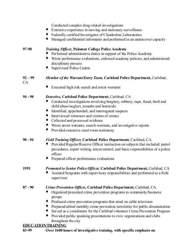 Field investigator cover letter