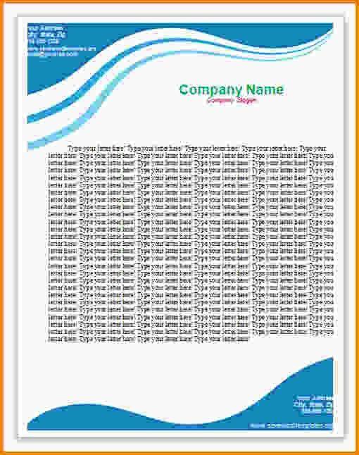 10+ letterhead templates word - LetterHead Template Sample