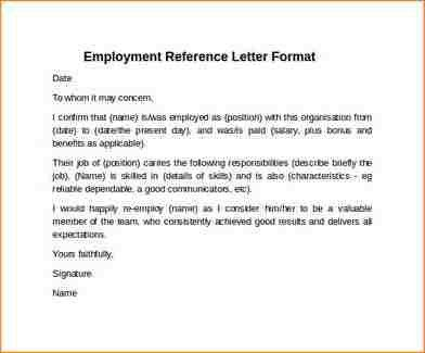 9+ reference letter format | academic resume template