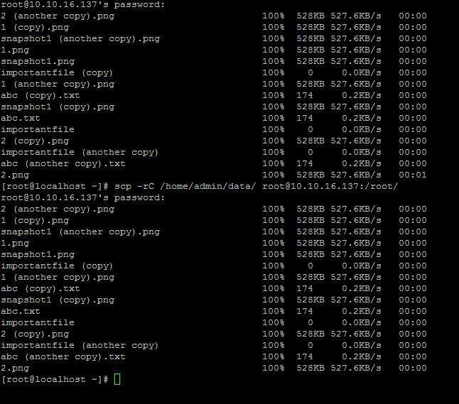 scp command in Linux/Unix   Unixmen