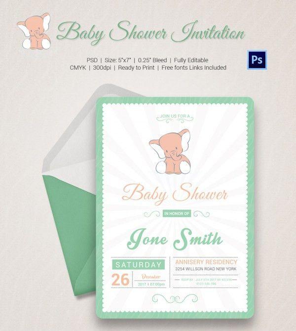 Baby Shower Invite Templates – gangcraft.net
