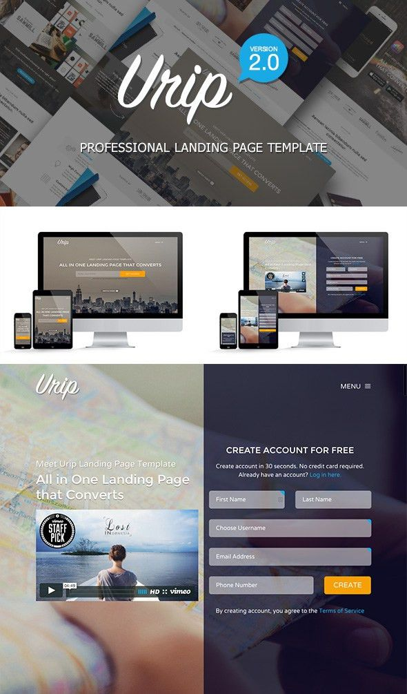 10 Best Bootstrap Landing Page Templates—With Responsive Designs