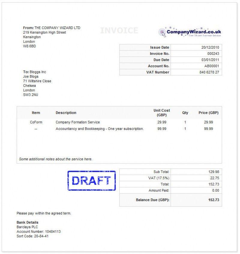 Membership Invoice Template | Cvcover.billybullock.us