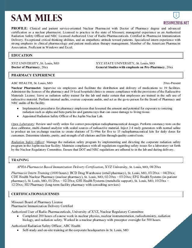 Cool Design Pharmacy Resume 9 Pharmacy Technician Resume Sample ...