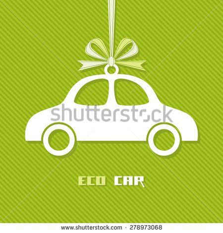 Vector Banner Shape Car Red Paper Stock Vector 132031862 ...