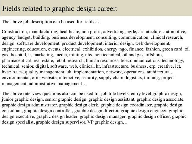 Top 10 graphic design interview questions and answers