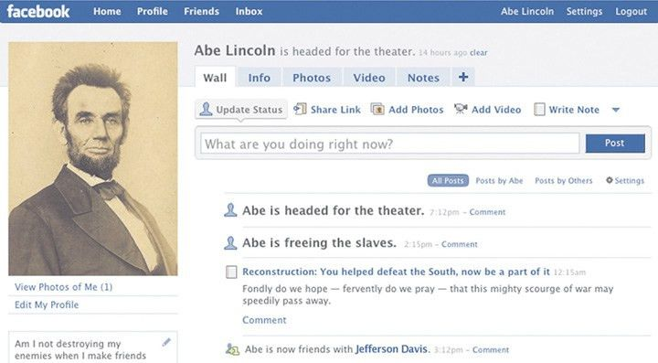 Lincoln and Facebook Templates for Learning