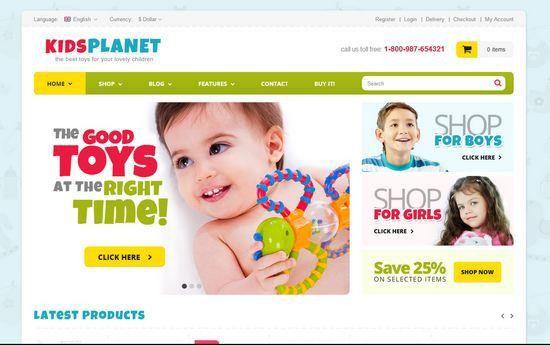 33 Free and Premium HTML/CSS eCommerce Website Templates | Ginva