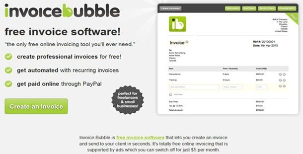 11 Free Online Invoicing Tools For Freelancers & Small Businesses ...