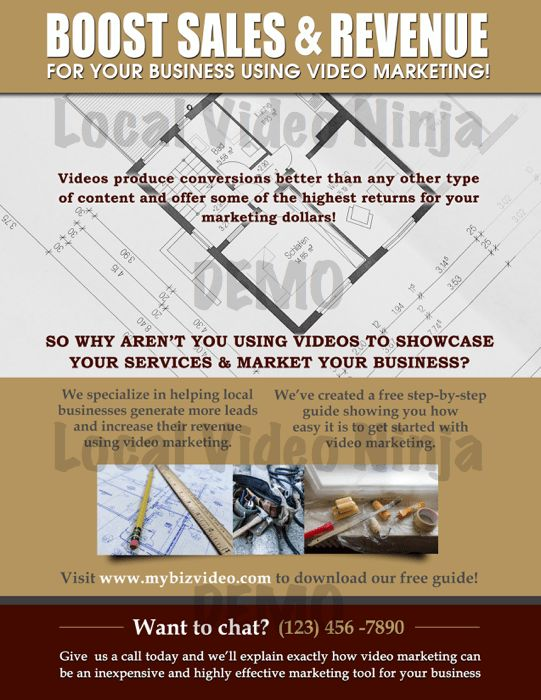Local Video Ninja Attack Pack – Roofing Edition – Bonus |