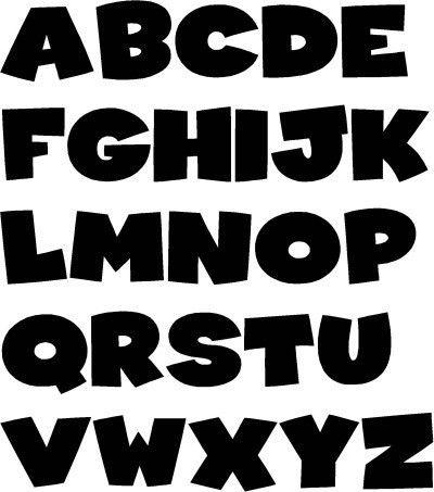 block letter font - Google Search | fonts | Pinterest | Block ...