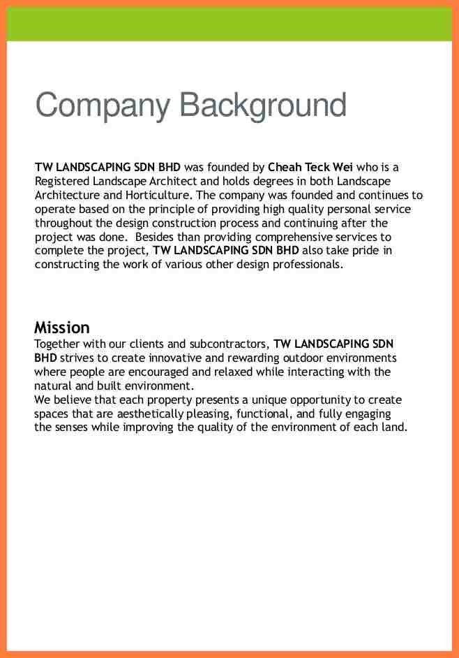 8+ engineering company profile sample | Company Letterhead