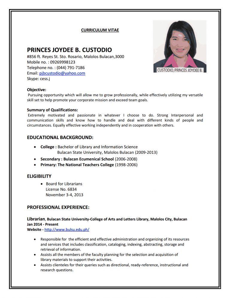 job-resume-1 - Resume Cv