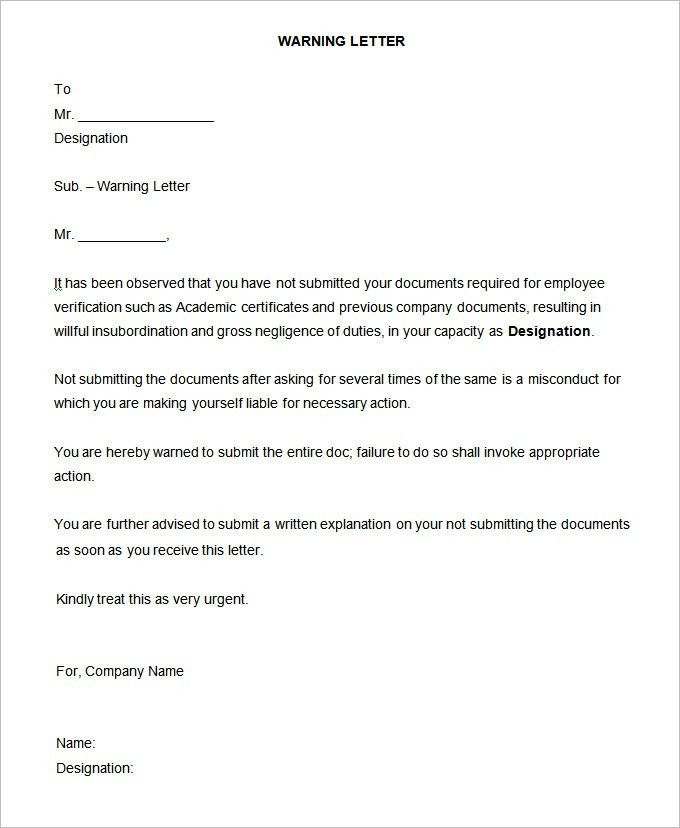 21+ HR Notice Templates | HR Templates | Free U0026 Premium Templates .  Inter Office Letter