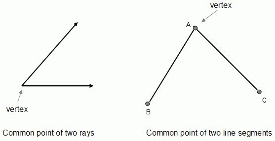 Vertex - math word definition - Math Open Reference
