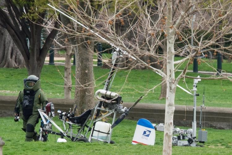 Fla. mailman lands gyrocopter on U.S. Capitol lawn - NY Daily News