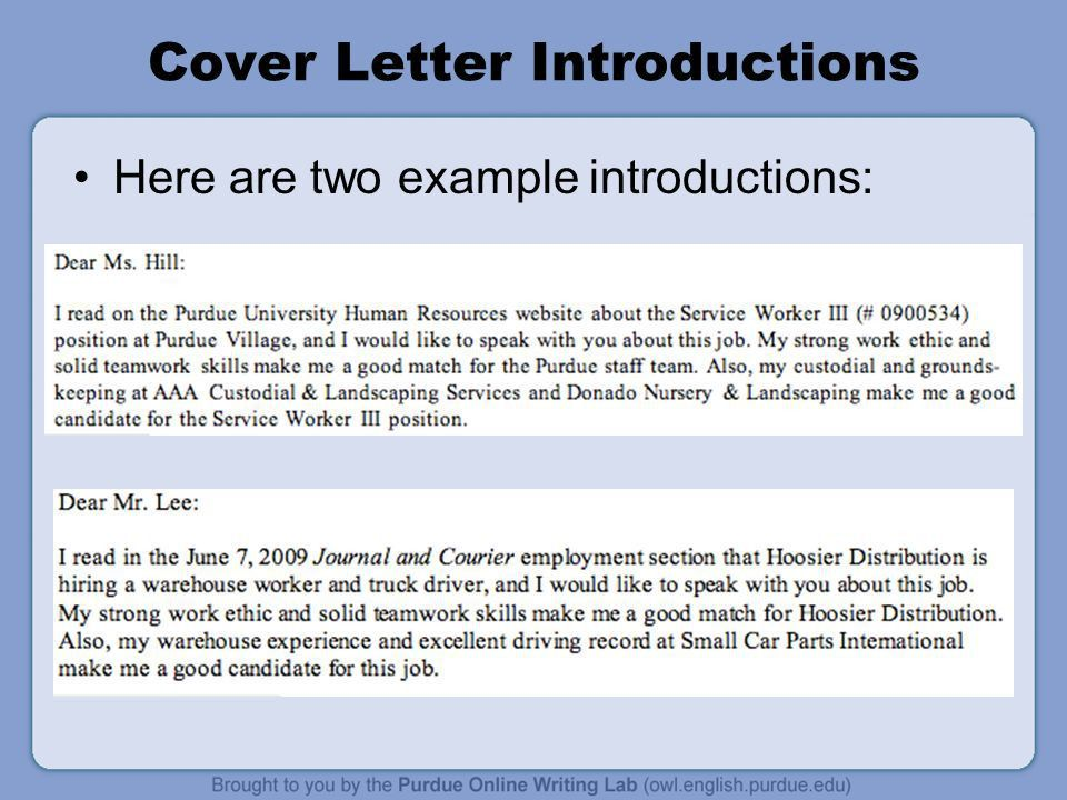 WorkOne Job Letters Workshop. Overview This presentation will ...