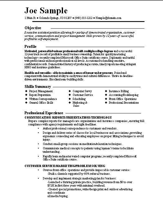 Entrepreneur Resume | berathen.Com