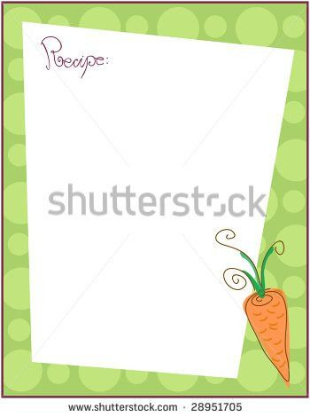 Recipe Card Stock Images, Royalty-Free Images & Vectors | Shutterstock