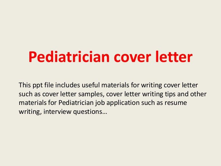 Pediatrician Resume Sample Samples Visualcv