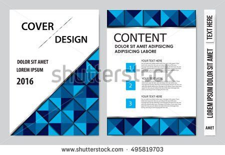 Cover Sheet Cover Note Book Cover Stock Vector 476179588 ...