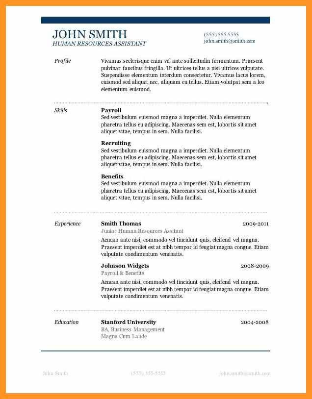 resume templates for mac pages free | bio letter format