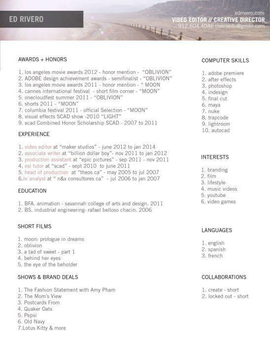Writer Editor Resume Format. writer editor free resume samples ...
