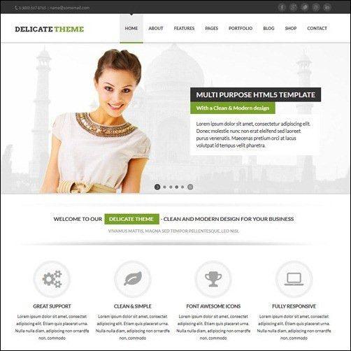10 Best Images of HTML5 Website Templates - Website Design ...